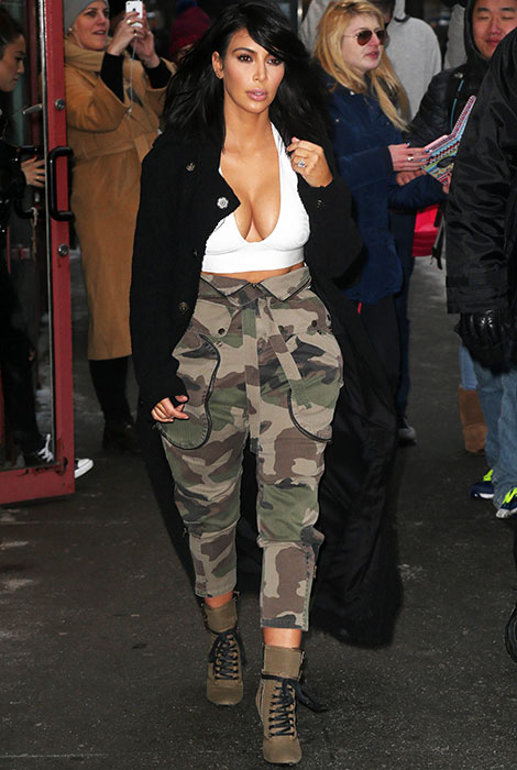 Kim kardashian hat einen bad taste r ckfall tr s click for Ideen bad taste party outfit