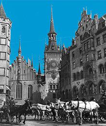 Marienplatz On The Centre Left