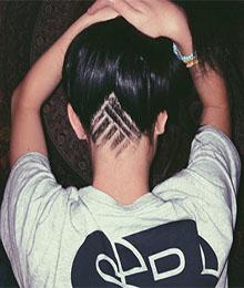 undercut tattoos neuer trend ist perfekt fr den job - Undercut Nacken Muster