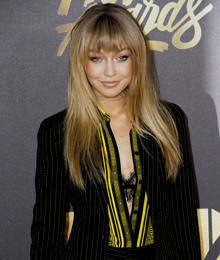 Gigi Hadid attends the 2016 MTV Movie Awards