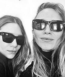 tres-click-marykateolsen-ashleyolsen-selfie-instagram