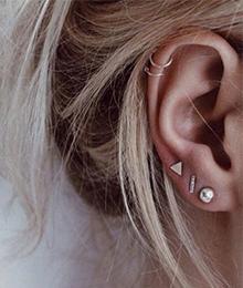 Piercing im ohr