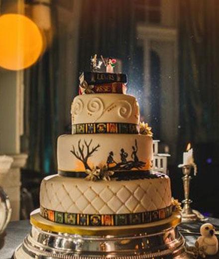 Dieses Paar Feiert Eine Harry Potter Hochzeit Mit Allem Was Dazu