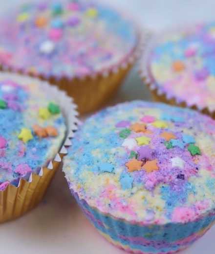 tres-click-unicorn-rainbow-cupcake-badekugeln