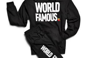 """Der McDonalds-Sweater mit dem Aufdruck """"World Famous"""""""
