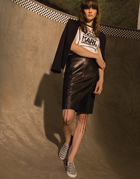 Hier seht ihr alle Pieces der Karl Lagerfeld x Vans-Kollektion.