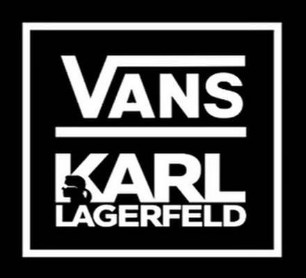 Vans und Karl Lagerfeld haben sich zusammen getan und bringen eine eigene Kollektion heraus.