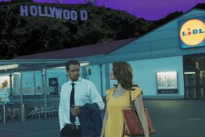 Lidl hat einen neuen Werbespot angelehnt an La La Land rausgebracht.