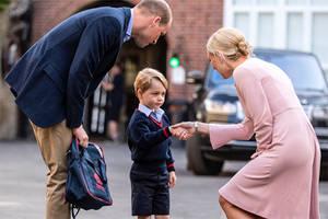 Prinz George wird heute eingeschult und er ist niedlich wie eh und je.