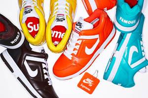 Wie cool sind bitte die brandneuen Supreme x Nike Sneaker?