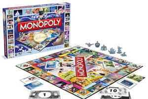 Das klassische Monopoly wird jetzt durch das Disney-Monopoly ersetzt.