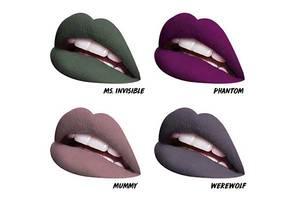 DIESE neuen Horror-Movie-Lipsticks sind einfach nur zum Gruseln schön
