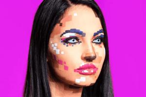 Pixel-Make-up könnte DER neue Halloween-Hit dieses Jahr werden