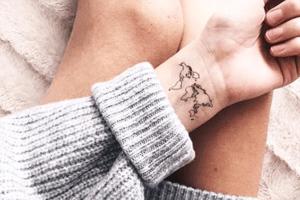 10 Reise-Tattoos, bei denen dich SOFORT das Fernweh packt