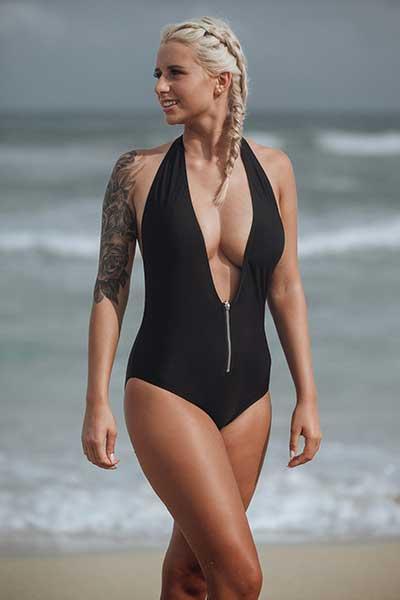 Bachelor 2018: Carina beim sexy Bikini-Shooting