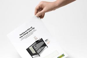 Ikea-Werbung fordert Frauen für Rabatt zum Pinkeln auf