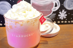 Aaaaah, es gibt jetzt millennial-pinken Starbucks-Latte