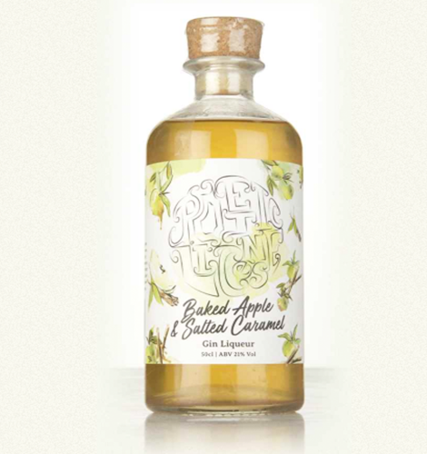 Salted Caramel Gin Flasche