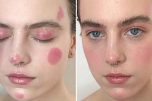 Blush Make-Up