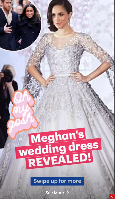 Neue Details: SO soll das Hochzeitskleid von Meghan Markle angeblich aussehen