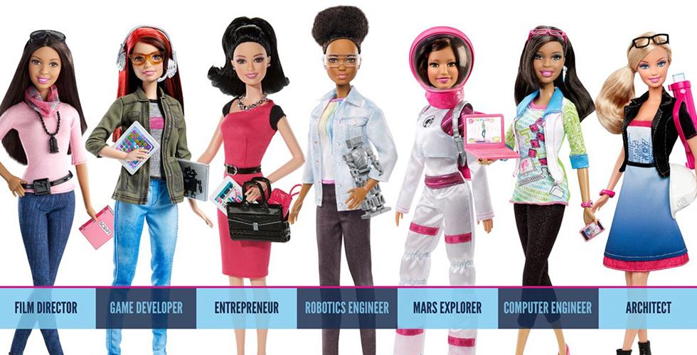 Barbie hat eine neue Karriere: Sie ist jetzt Robotik-Ingenieurin