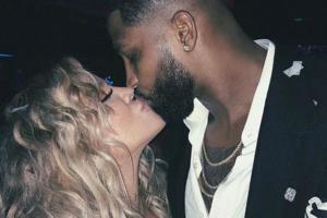 Khloe Kardashian und Tristan Thompson knutschen rum – als wäre der Sex-Skandal NIE passiert!