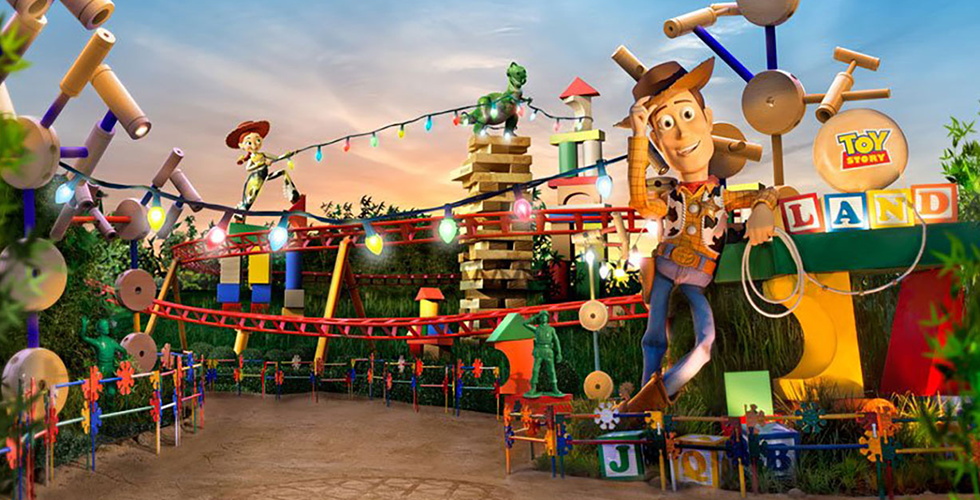 """""""Toy Story""""-Land"""