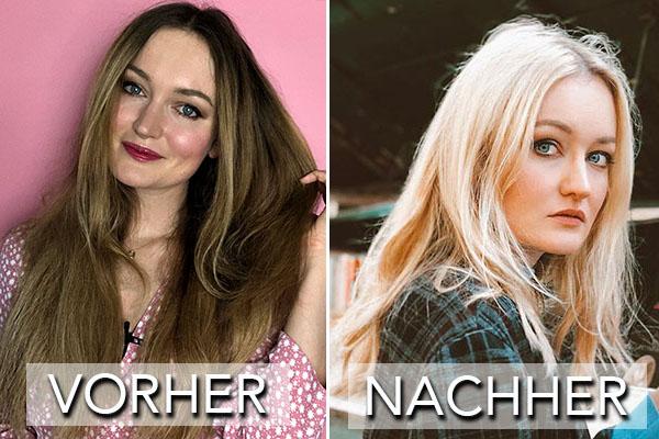 Blond haare zu Blonde Haare: